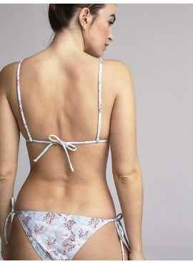 Top Bikini Triangulo Estampado