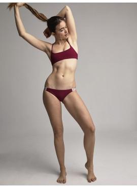 Top Bikini Deportivo Grosella